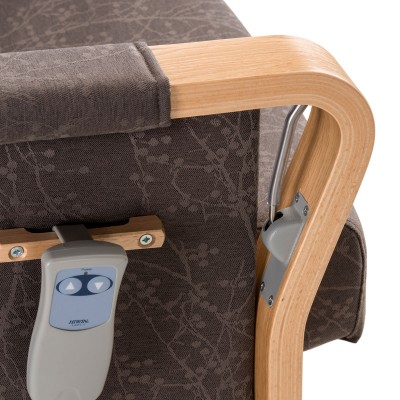 Duun high back recliner chair