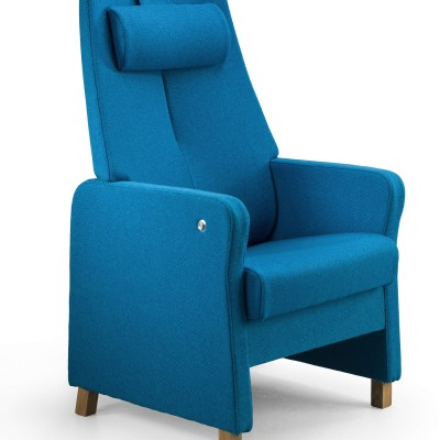 Duun high-back recliner chair