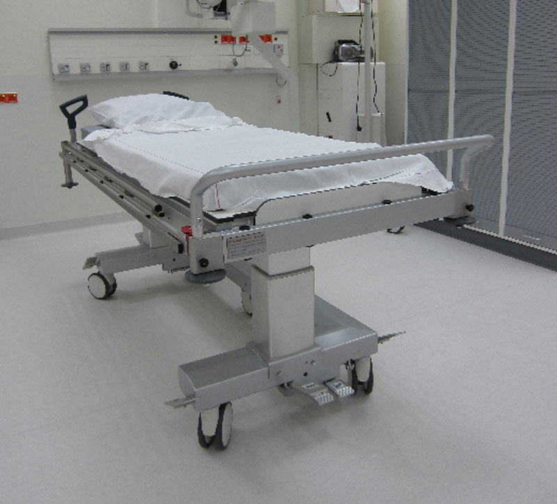 C-Arm Hospital Patient Trolley