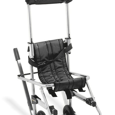 Skid evacuation chair