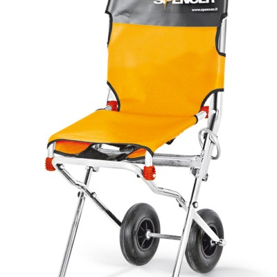 Compact evacuation and transportation chair