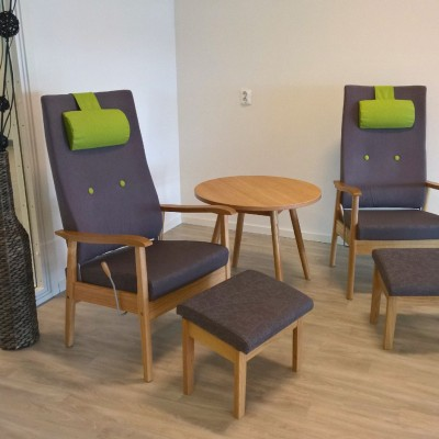 Pan high back recliner chairs