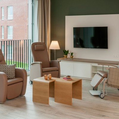Domus and Fero high back recliners