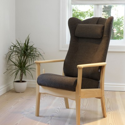 Ergo high back recliner chair