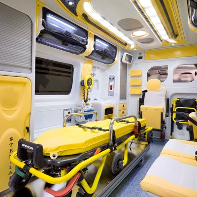 BlueLight Ambulance Interior